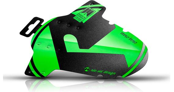 rie:sel design criss:cross Parafango verde/nero